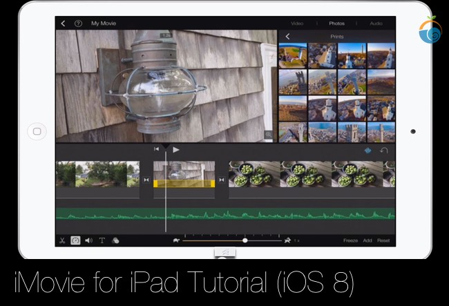 iMovie for iPad Tutorial (iOS 8) | Best Online Short Courses