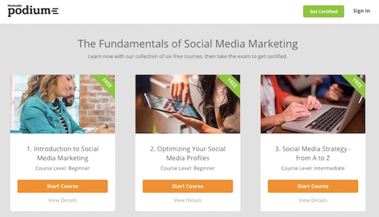 Podium Social Media Marketing