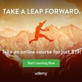 Udemy Take A Leap Forward